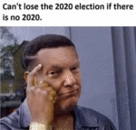 Can't Lose The 2020 Election If There Is No...