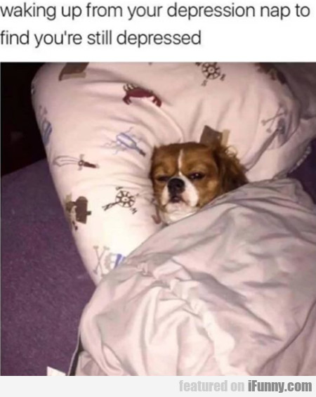 Waking Up From Your Depression Nap To Find...