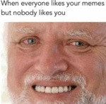 When Everyone Likes Your Memes But Nobody Likes...