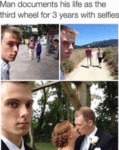 Man Documents His Life As The Third Wheel For...