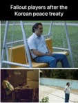 Fallout Players After The Korean Peace Treaty