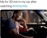 Me For 30 Min In My Car After Watching...