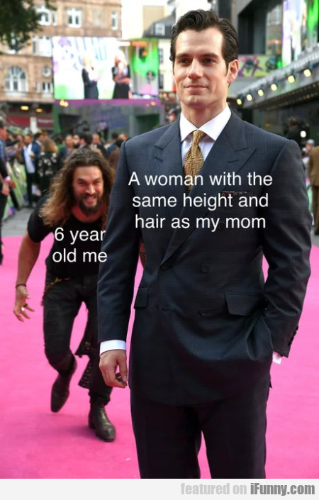 A woman with the same height and hair as...