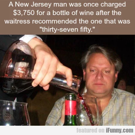 A New Jersey Man Once Charged $3,750 For A...