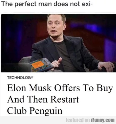 Elon Musk Offers To Buy And Then Restart Club...