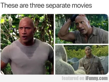 These Are Three Separate Movies