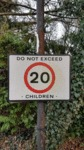 Do Not Exceed 20 Children