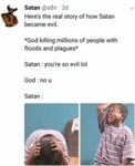 Here's The Real Story Of How Satan Became Evil...