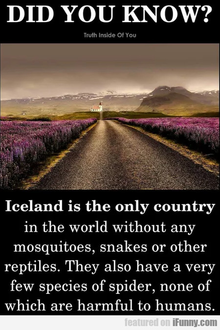 Did you know - Iceland is the only country in...
