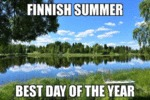 Finnish Summer - Best Day Of The Year...