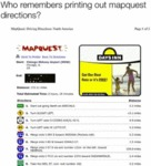Who Remembers Printing Out Mapquest Directions...