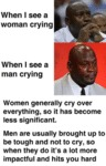When I See A Woman Crying - When I See A Man...