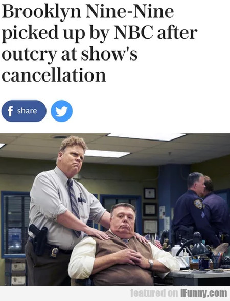 Brooklyn Nine-nine Picked Up By Nbc After Outcry..