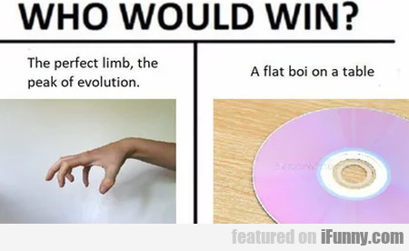 Who Would Win? - The Perfect Limb, The Peak Of...