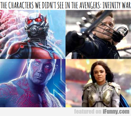 The Characters We Didn't See In The Avengers...
