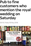 Pub To Fine Customers Who Mention The Royal...