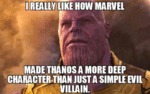 I Really Like How Marvel Made Thanks A More...