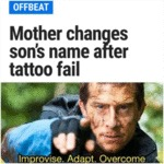 Mother Changes Son's Name After Tattoo Fail