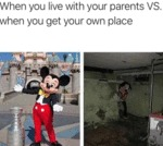 When You Live With Your Parents Vs When You...