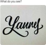 What Do You See? - Laurel - Yannis