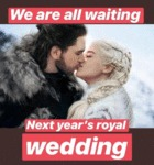 We Are All Waiting Next Year's Royal Wedding...