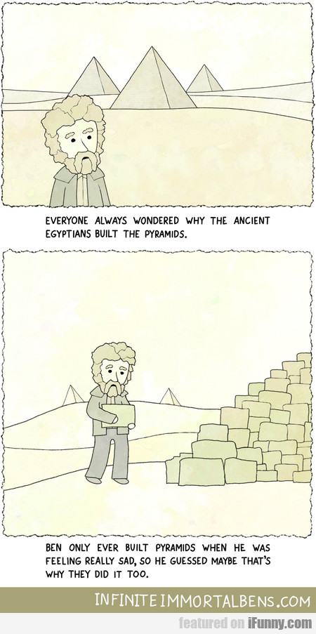 Everyone Always Wondered Why The Ancient Egyptians
