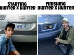 Starting Hunter X Hunter - Finishing Hunter X...