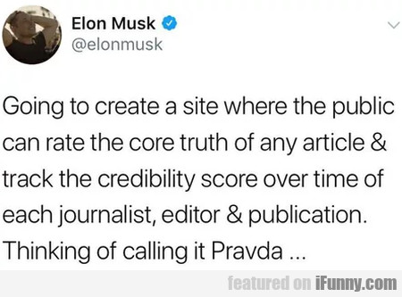 Going To Create A Site Where The Public Can Rate..