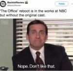 The Office Reboot Is In The Works At Nbc But...