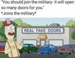 You Should Join The Military - It Will Open So...
