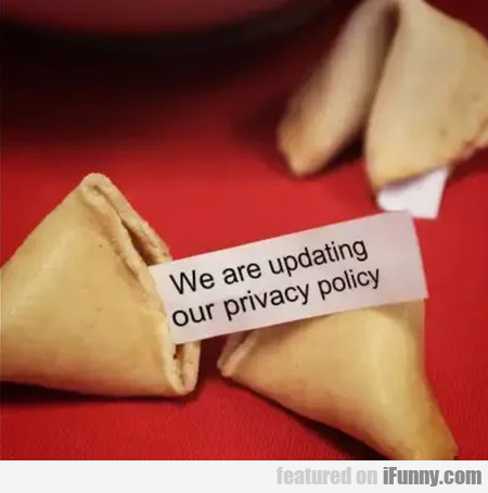 We Are Updating Our Privacy Policy...
