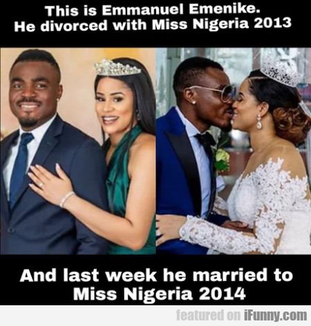 This Is Emmanuel Emenike - He Divorced...