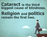 Cataract Is The Third Biggest Cause Of Blindness..