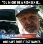 You Might Be A Redneck If...you Have Four...