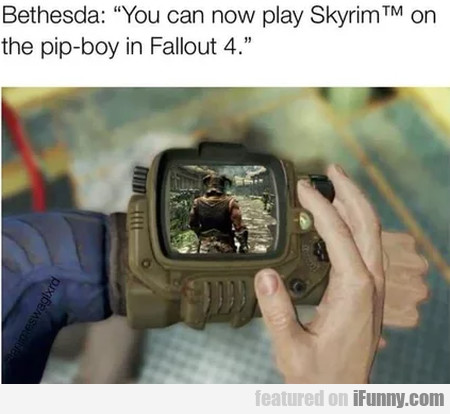 Bethesda - You Can Now Play Skyrim On The...