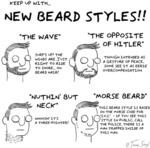 Keep Up With... New Beard Styles!!
