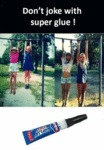 Don't Joke With Super Glue