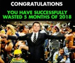Congratulations - You Have Successfully Wasted...