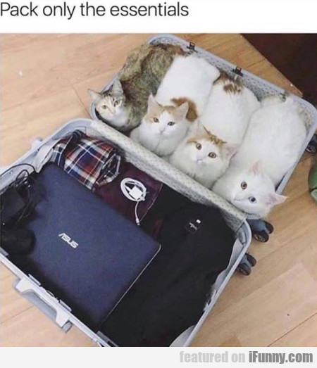 Pack Only The Essentials