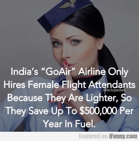 India's Goair Airline Only Hires Female Flight...