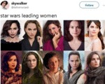 Star Wars Leading Women