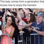 This Lady Comes From A Generation That...