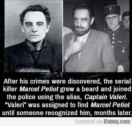 After His Crimes Were Discovered, The Serial...