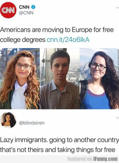 Americans Are Moving To Europe For Free College...