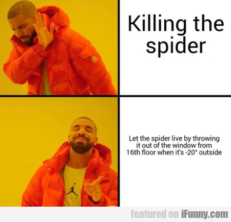 Killing The Spider - Let The Spider Live...