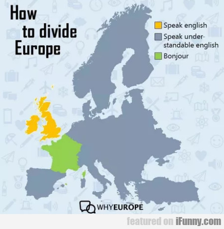 How To Divide Europe - Speak English...