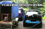 It's Like A Vegan That Secretly Eats Meat...