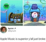 Apple Music Is Superior Y'all Just Broke...