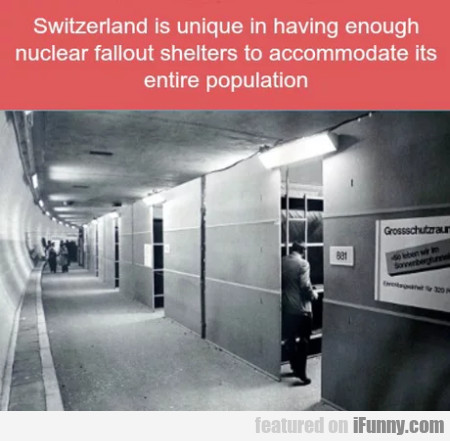 Switzerland Is Unique In Having Enough Nuclear...
