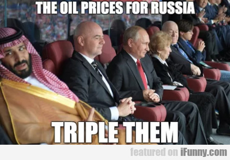 The Oil Prices For Russia - Triple Them